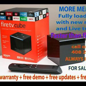 Special Amazon Firetv Cube Many In Stock For Sale for Sale in Milpitas, CA