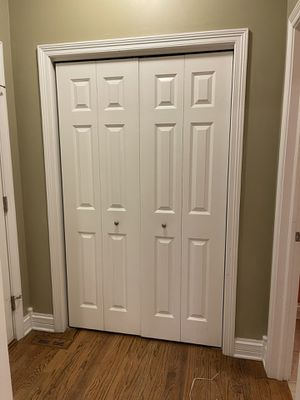 Solid wood bifold doors for Sale in South Elgin, IL