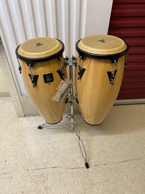 Lp aspire conga drum set mint for Sale in Chicago, IL