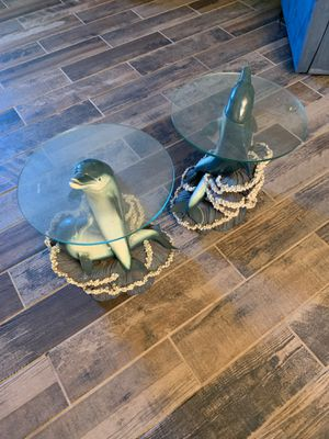 Vintage dolphin end tables for Sale in Bartow, FL
