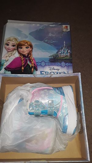 Toddler girls frozen boots size 9c brand new for Sale in Providence, RI