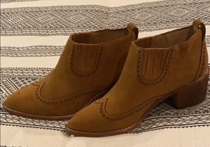 Madewell Suede Booties - Size 6.5 for Sale in San Diego, CA