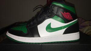 Jordan 1 mid green toe for Sale in Port Saint Lucie, FL