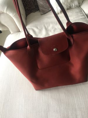 Longchamp Large Neo Le Pliage Bag in Red!!! for Sale in Chevy Chase Village, MD