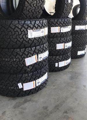 33/12/50/20⚡️Allterrain💥10 ply ⚡️Load range -E✨4 NeW TireS=2 years warranty✨BiG SALE for Sale in Arlington, TX