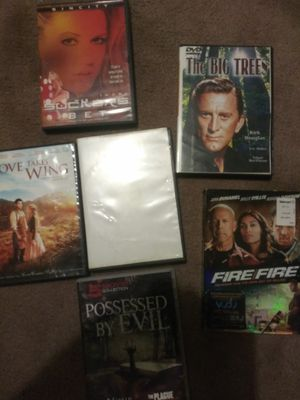 DVDS. About 100. Realy good one s for Sale in Wimauma, FL