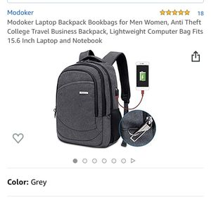 Modoker Laptop Backpack Bookbags $New still in original packaging$ for Sale in Bakersfield, CA