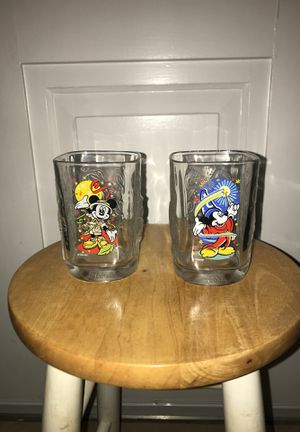 McDonald's Disney glasses for Sale in Fort Myers, FL
