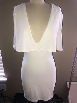 White Caped Dress Small for Sale in Douglasville, GA