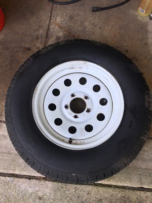 "Trailer tire 15"" for Sale in Sayreville, NJ"