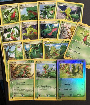 Treecko HOLO EX Black Star Promo 15 Pokemon Cards for Sale in Medford, MA