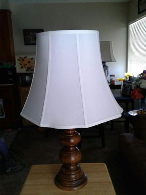 Wood lamp for Sale in Temple City, CA