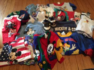 Mickey Toddler/Baby Clothes Lot for Sale in Phillipsburg, NJ
