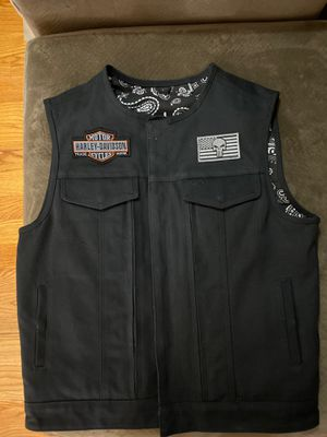 Authentic Harley Vest for Sale in Melrose, MA