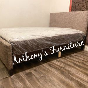 Full Bed & Bamboo Mattress for Sale in Norwalk, CA