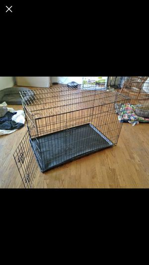 Large dog kennel 47 x 29 x 31 for Sale in West Jordan, UT