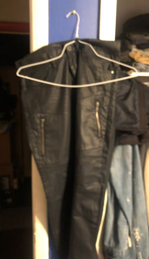 Armani exchange men's leather jeans for Sale in Edgewater Park, NJ