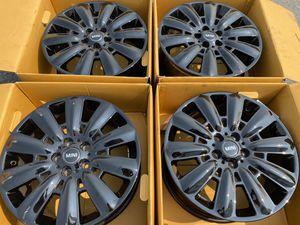 "2020 Mini Countryman Cooper OEM Black 18"" Wheels Rims for Sale in Davis, CA"