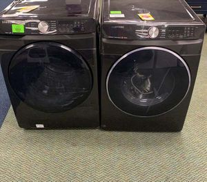 SAMSUNG WASHER AND GAS DRYER Set B2 for Sale in Whittier, CA