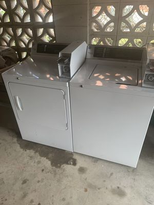 GE comercial washer&dryer for Sale in Mount Rainier, MD
