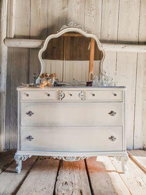 Antique Dresser With Mirror - French Dresser - Restoration for Sale in Portland, OR