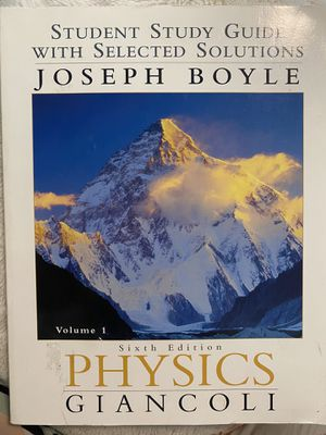 Physics Textbook for Sale in Seattle, WA