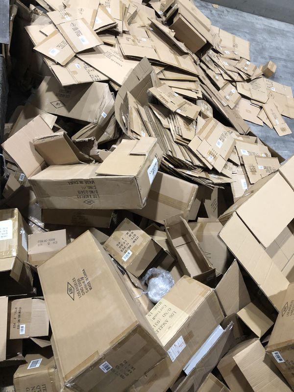 FREE! Hundreds of pounds of Cardboard