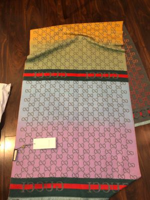 Gucci reversible women's multicolor scarf for Sale in Hillsboro, OR