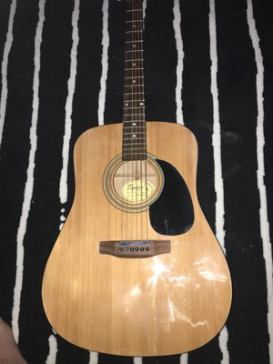 SQUIER by fender acoustic guitar for Sale in Alexandria, VA