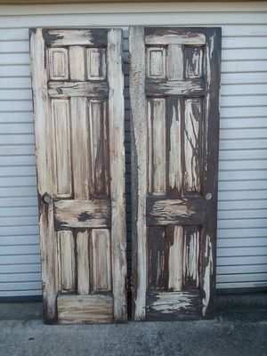 "Pair of Custom Old Wood Rustic 24"" Interior Doors for Sale in Fort Worth, TX"