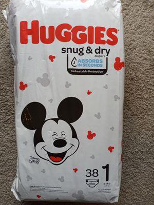 Huggies Snug & Dry Diapers size 1 &2 for Sale in Renton, WA