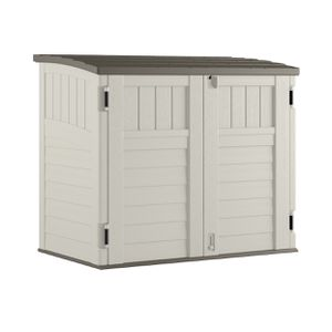 Suncast Horizontal Outdoor Storage Shed Vanilla and Stoney - 34 Cubic Feet for Sale in El Monte, CA