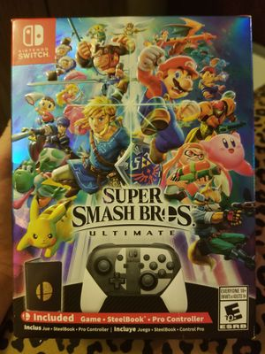 Super Smash Bros Ultimate Special edition for Sale in Seattle, WA