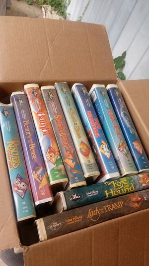 Disney VHS's Black Diamond Editions for Sale in West Columbia, SC