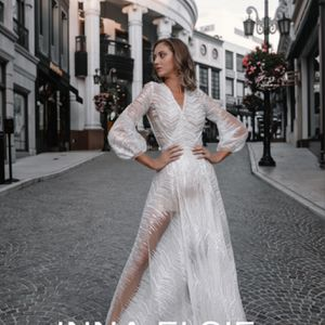 Wedding Dress, Wedding Robe , White Dress, Engagement, Dress For Photoshoot for Sale in West Hollywood, CA