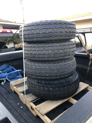 Trailer 8 lugs tires for Sale in Santa Ana, CA