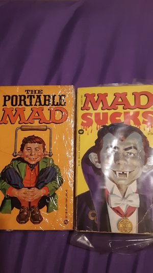 MAD OLD PAPERBACK BOOKS for Sale in Lake Worth, FL