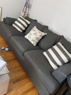 Grey couch for Sale in Philadelphia, PA