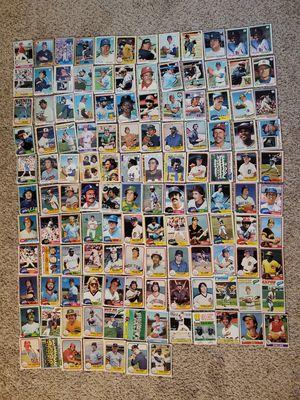 1977-1987 vintage baseball/football cards for Sale in Hendersonville, TN