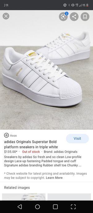 White adidas for Sale in Tustin, CA