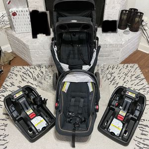 Graco Modes Travel System w/ extra base for Sale in Sugar Land, TX