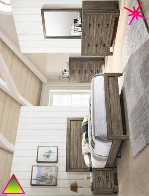 Edmonton 🍊 Queen Panel Bedroom Set |ask King Size Bedroom Set ] mobilier de chambre for Sale in Alexandria, LA
