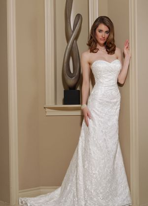 Davinci Wedding Dress, Style 50155, New, White, Size 14 for Sale in Denver, CO