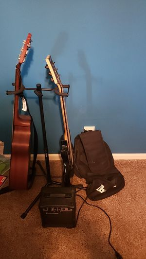Acoustic and electric guitar for Sale in Midland, MI