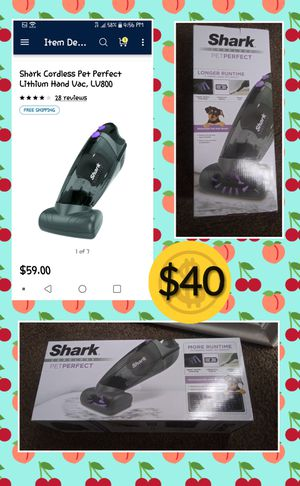 Want a Shark Vacuum? for Sale in Escondido, CA