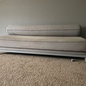 Grey Couch Futon for Sale in Atlanta, GA