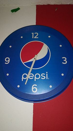 Pepsi Clock For Sale Only 4 Left At 70