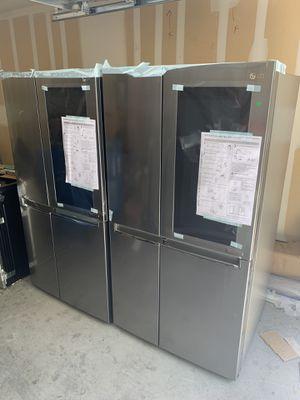 Lg instaview refrigerator NEW for Sale in Las Vegas, NV