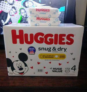 Huggies Snug & Dry Size 4!!READ THE ADDDDD❤👶❤ for Sale in Carson, CA
