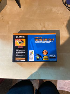 Linksys lan card for Sale in Spanaway, WA